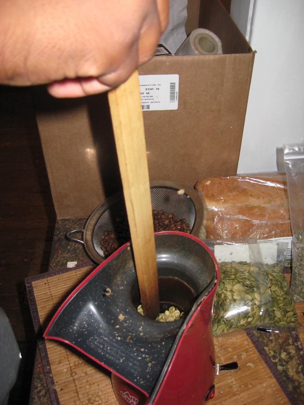Garden Works coffee roasters!