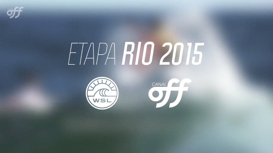 WORLD SURF LEAGUE- OI RIO PRO MEDIA COVERAGE/ OFF CHANNEL