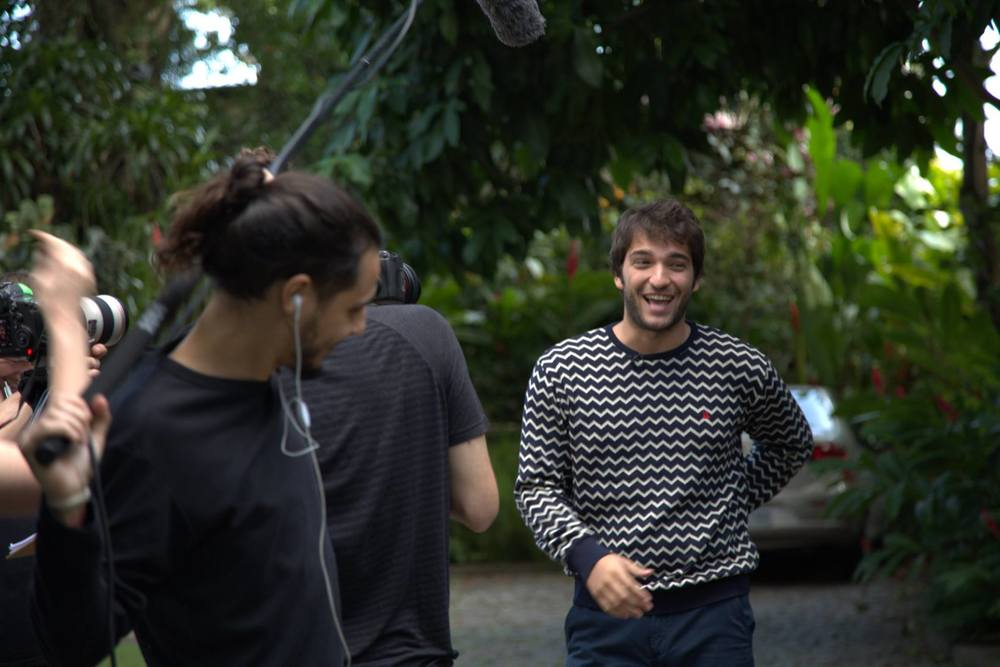 HOST, HUMBERTO CARRÃO, FILMING ON LOCATION