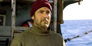 Proof that I will have sex with George Clooney no matter what he's wearing. Turtleneck & Beanie. Officially Sexy. I bet he doesn't even smell like fish. He just smells like essence of Clooney