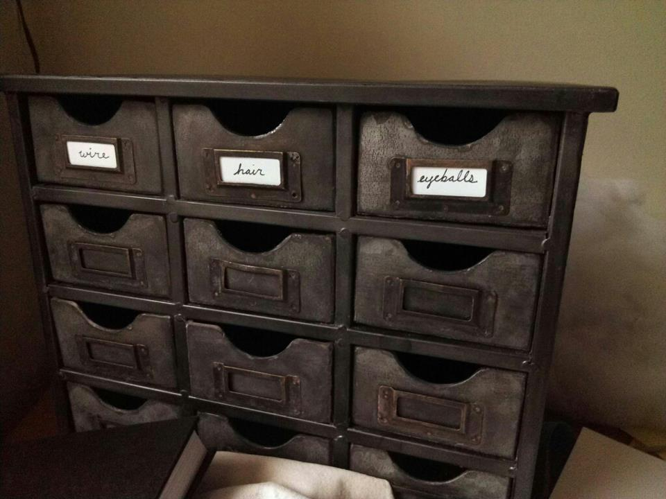 Jane got organized.