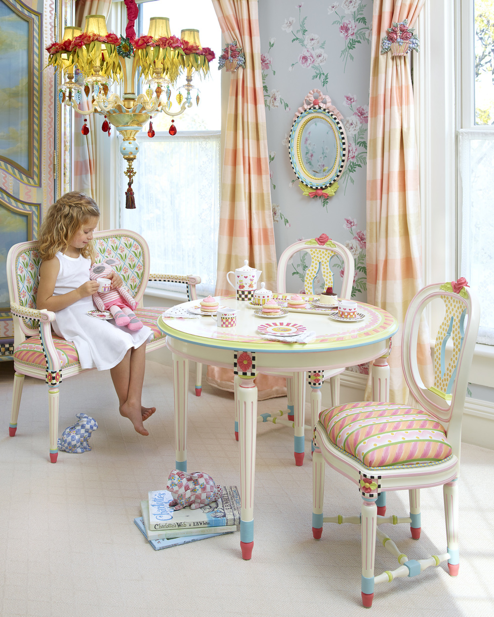 Ribbons And Roses Furniture Collection