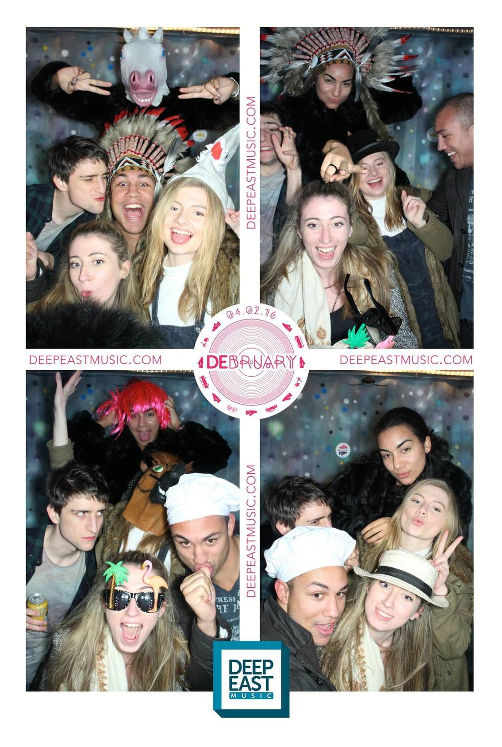 The London Lightbox Photobooth Prints