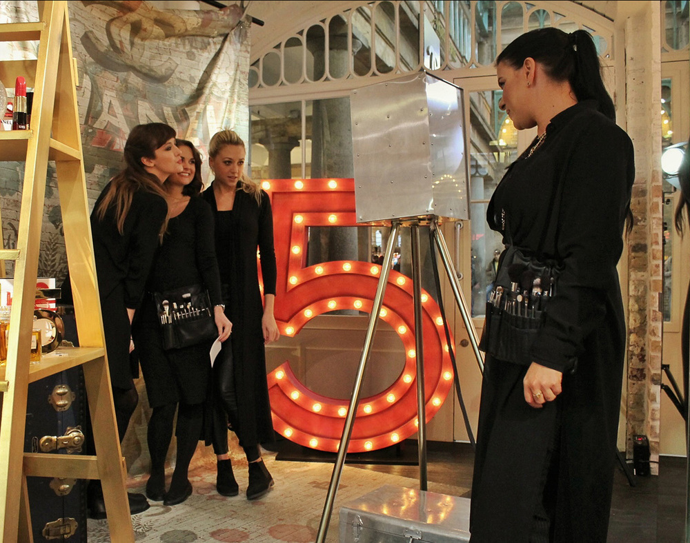 The London Lightbox Photobooth Chanel Covent Garden Photo Booth Luxury