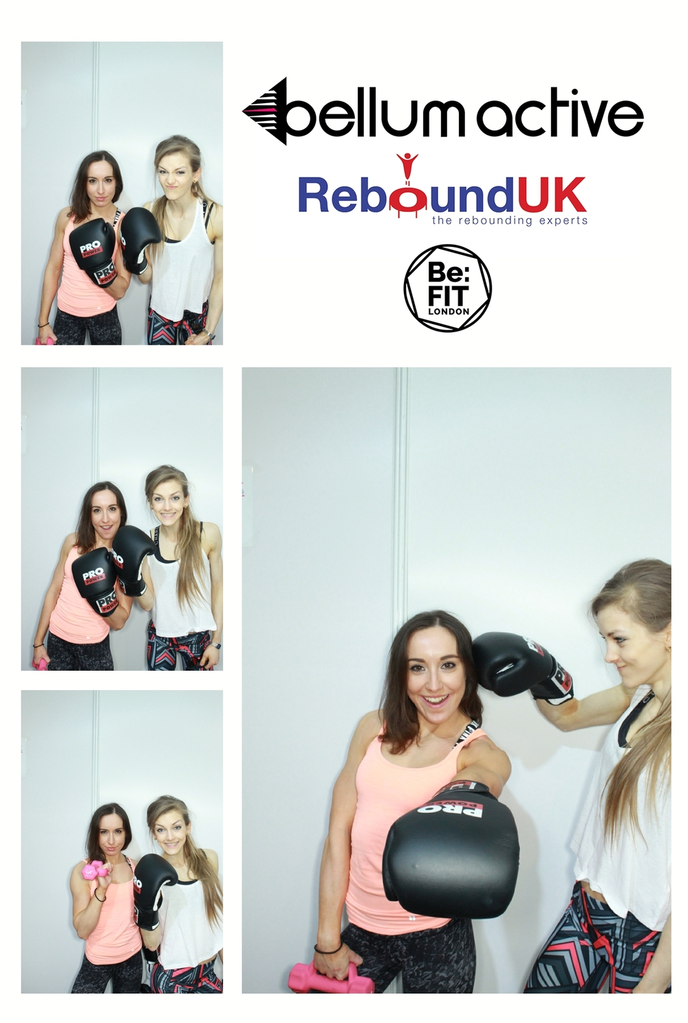 The London Lightbox Bellum Active Rebound Be:FIT Photo booth