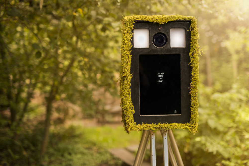 small customisable & branded outdoor photo booth skins from The London Lightbox
