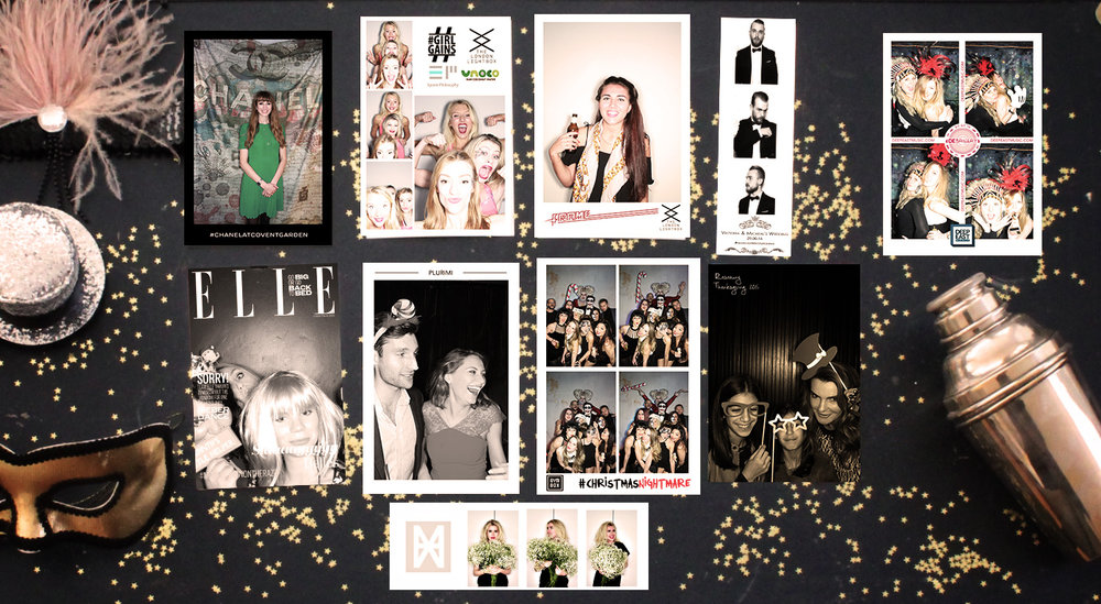 Prints & social - customisable & socially connected party photo booth from The London Lightbox