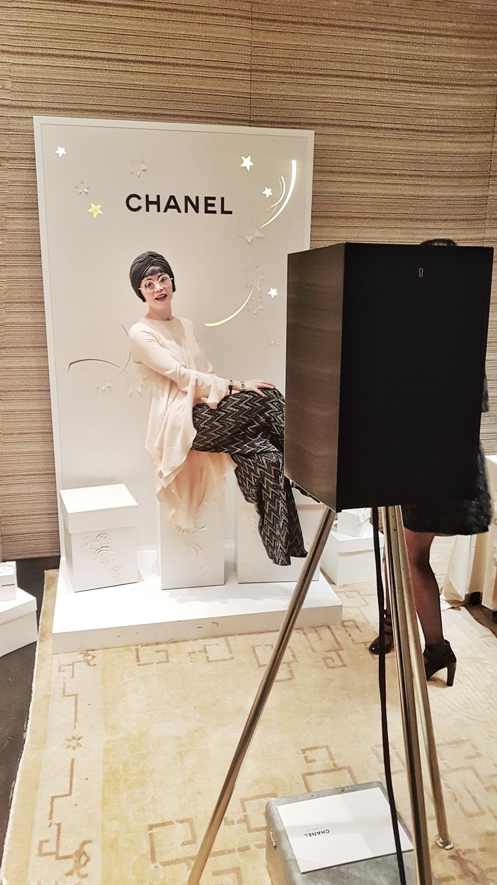 Chanel The London Lightbox Photo Booth New Bond Street