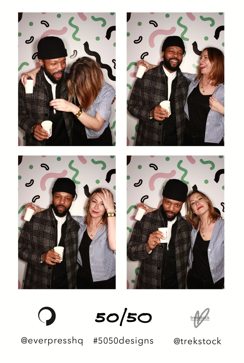 The London Lightbox Hoxton Arches Everpress Photobooth Photo Booth