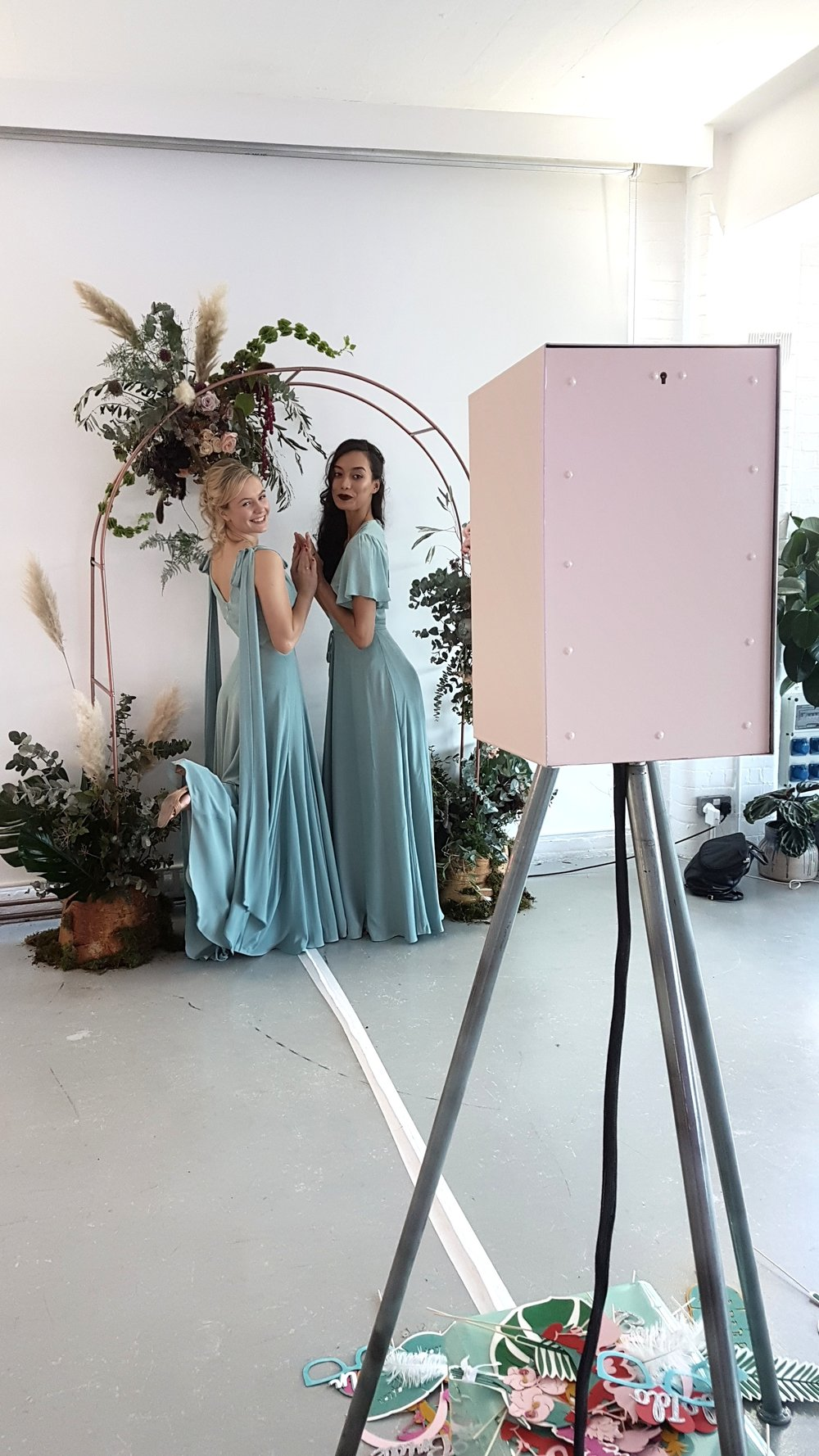 The London Lightbox Shoreditch Photo booth Photobooth Wedding Fair Unruly London