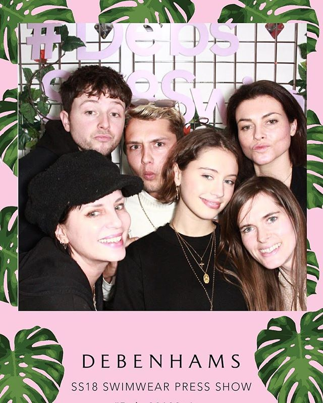 The Beast from the East didn't stop the Debenhams 2018 swimwear exclusive press show. With intricate embroideries, shimmering fabrics and bright summer florals all around the showroom was a summer bubble to the Blighty blizzard outside! Read more in our journal (in bio) #beastfromtheeast #theshowmustgoon #DebSS18Swim