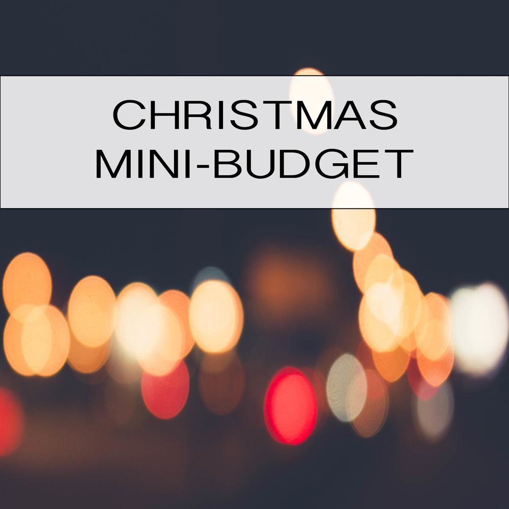A great tool to use for planning your Christmas spending!