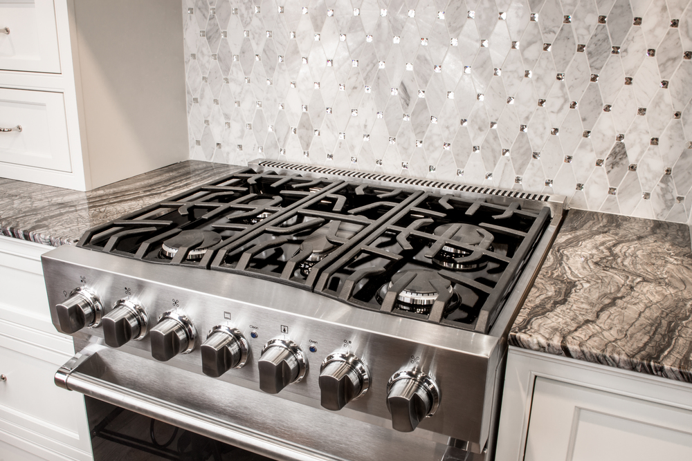 Gas Range for Insidesign Showroom, Atlanta, GA