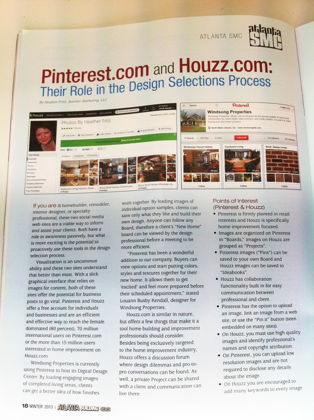 Atlanta Builder News (Trade Publication)