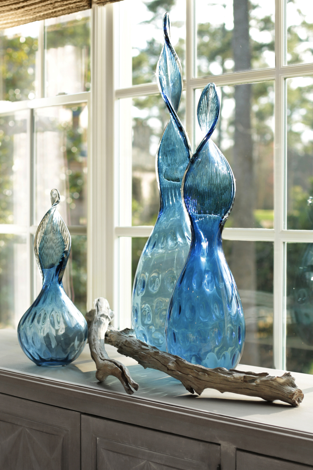 Art Glass Accessories for Outrageous Interiors, Atlanta, GA