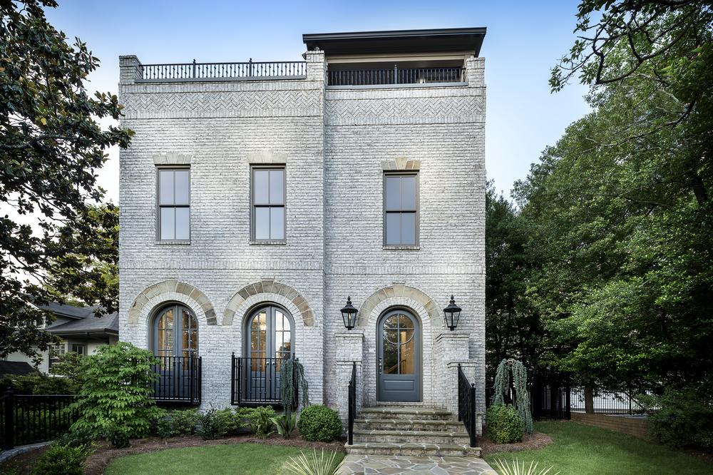 In-town Custom Home by Brock Built