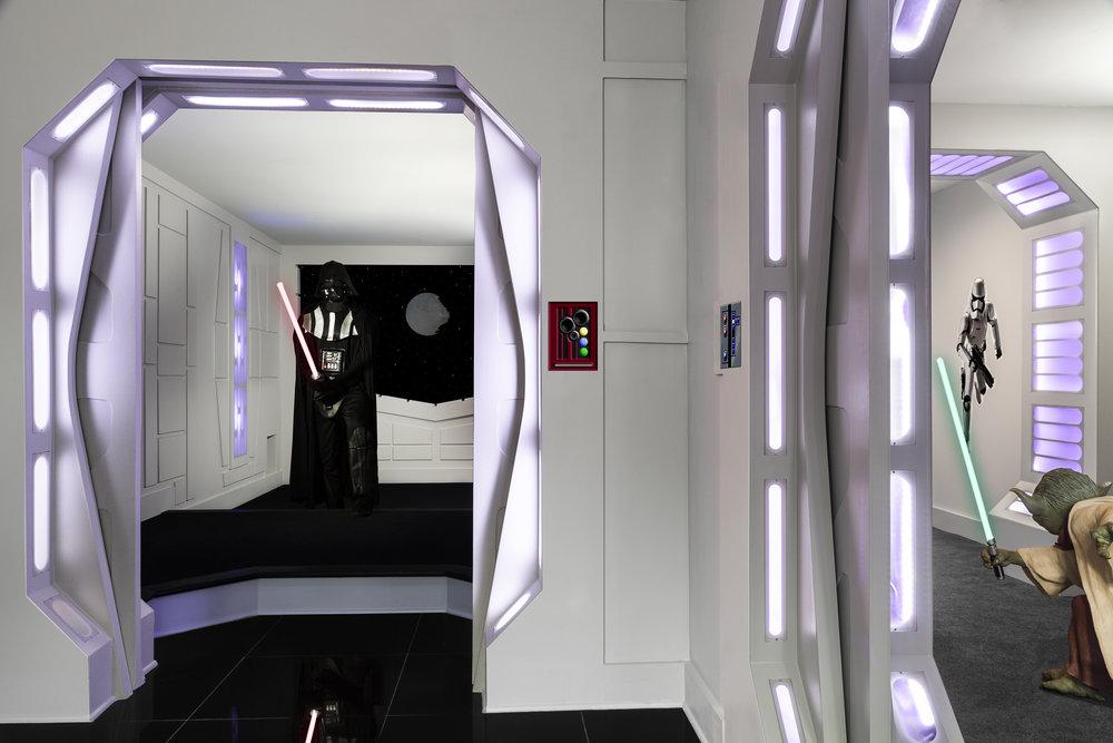 Death Star Basement Remodel