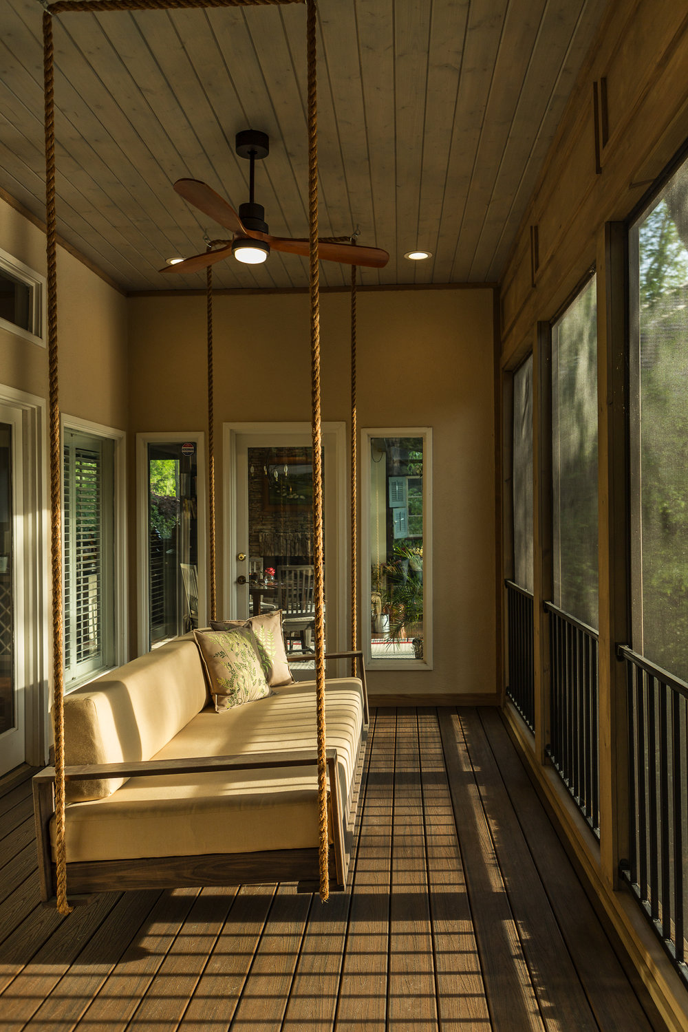 Swing Porch Bed Lounger Product Shoot for Direct Build