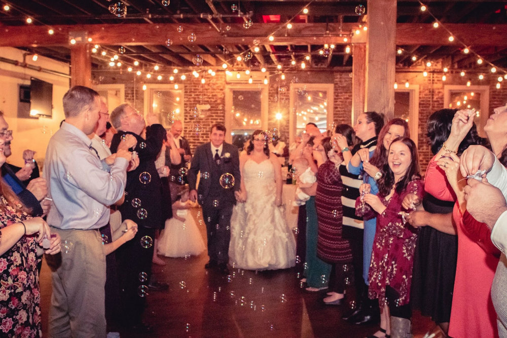Rustic Fall Wedding at Avondale Brewing Company