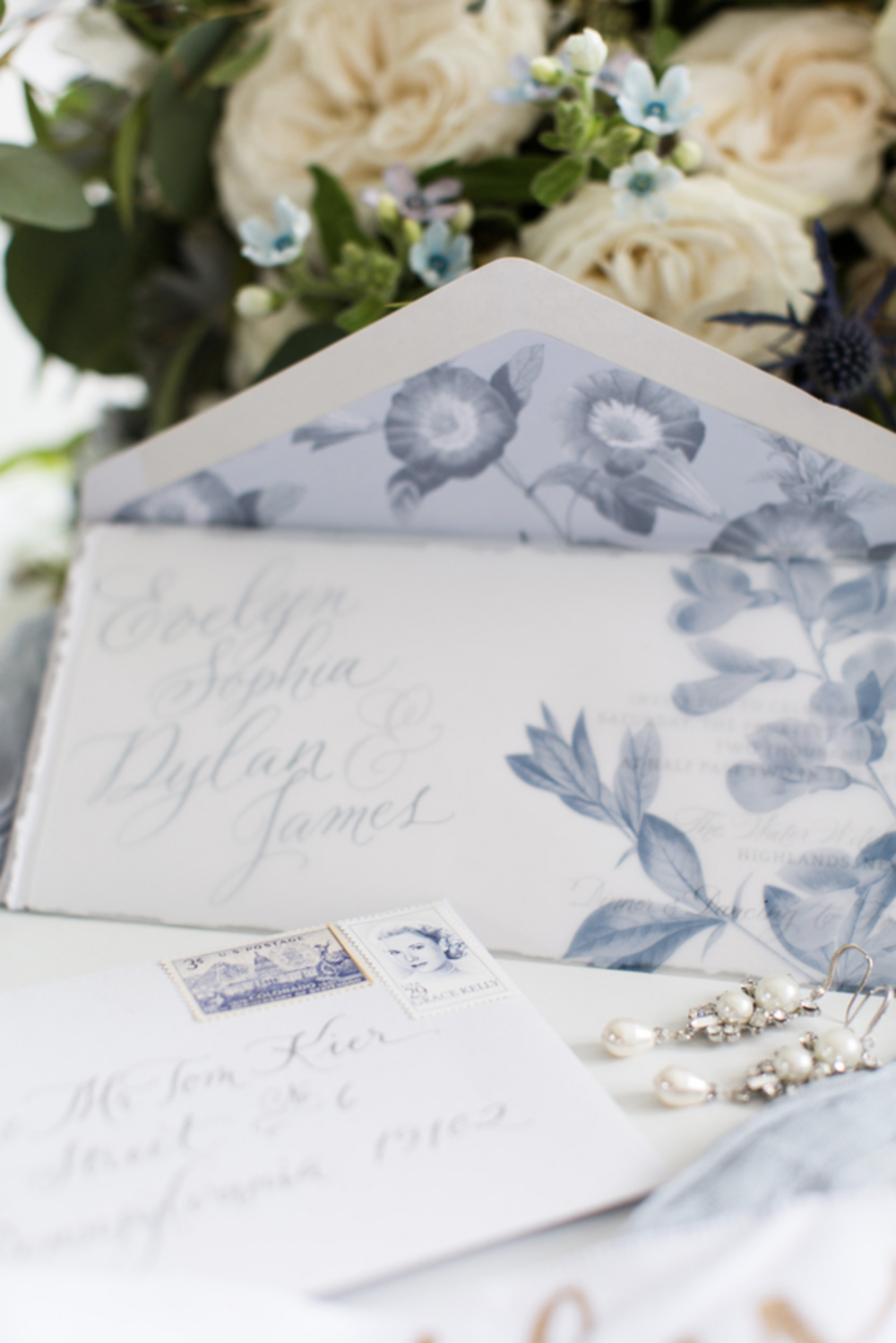Dusty Blue Floral Wedding Invitation.png