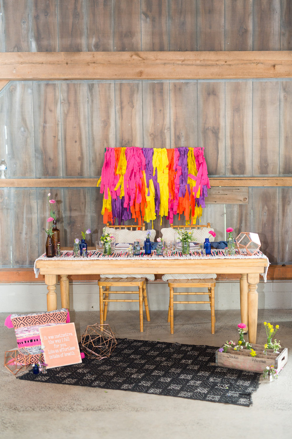Bohemian Wedding Inspiration Princeton New Jersey