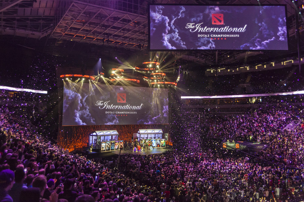 The International 2014. Una fiesta.