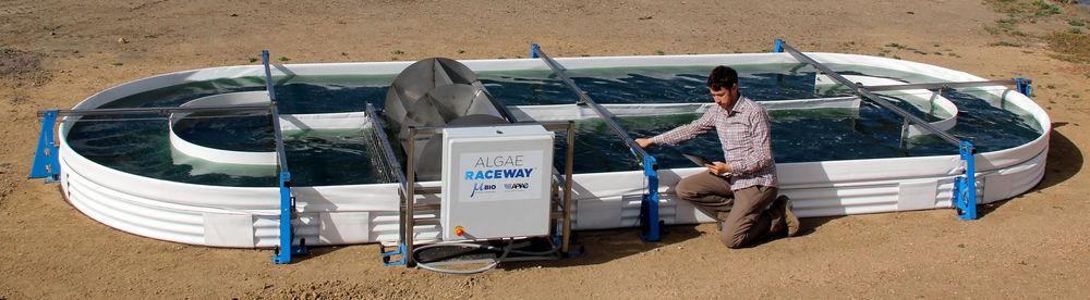 RW22 MBE Algae Raceway 22m2