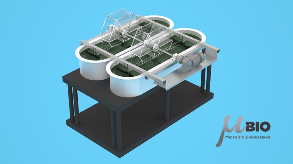 RW0.5 MicroBio Engineering AlgaeRaceway