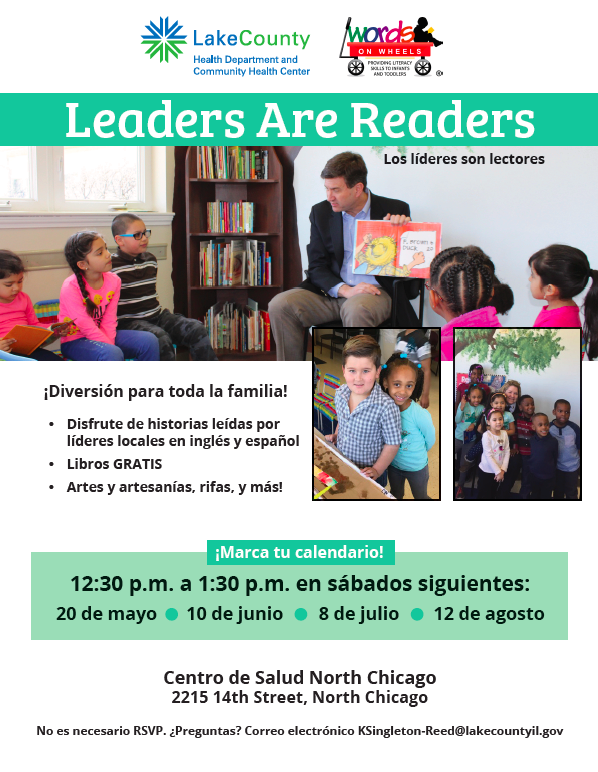 Leaders are Readers Spanish