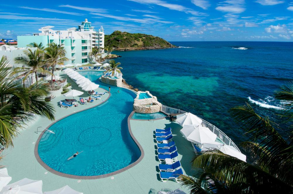 Caribbean's Oster Bay Beach Resort in St. Maarten Netherlands Antilles