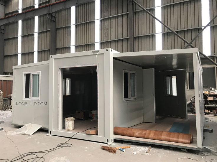 Container homes being built for export accross the world.