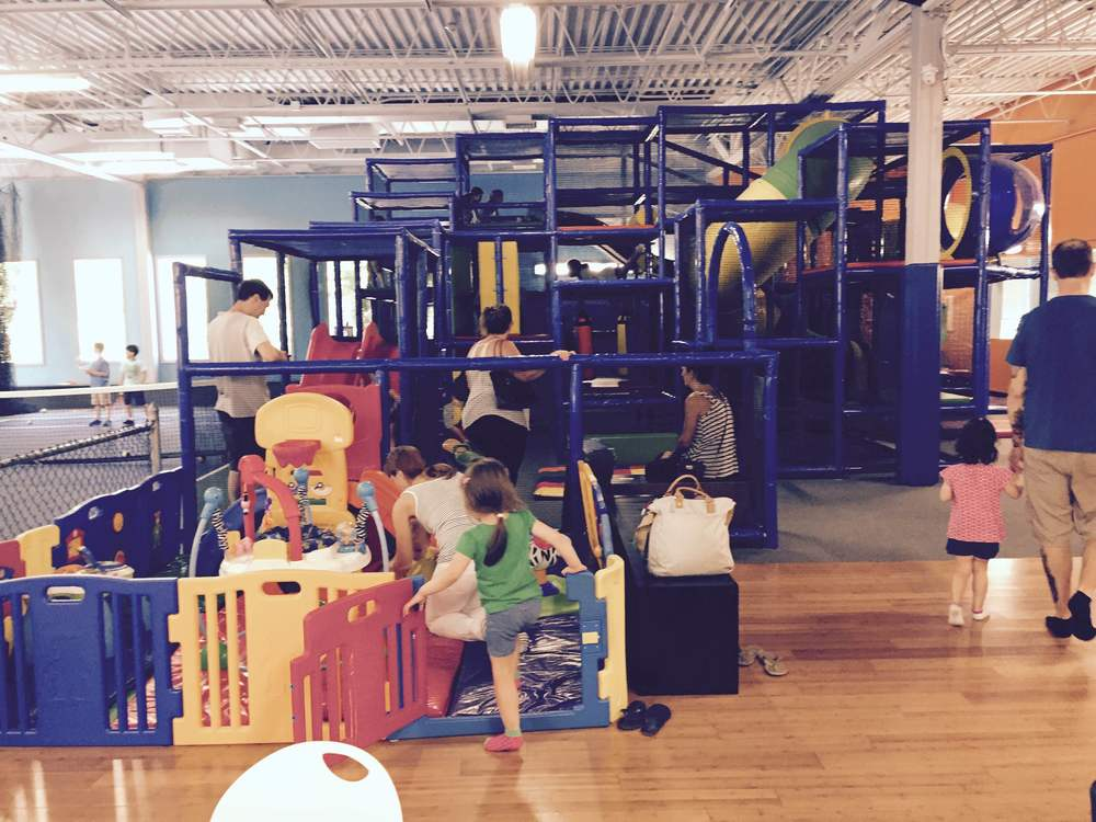 The Indoor Playground with Infant Area