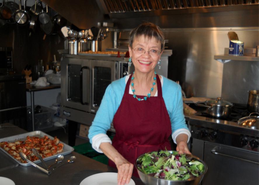Chef Genevieve Delfosse