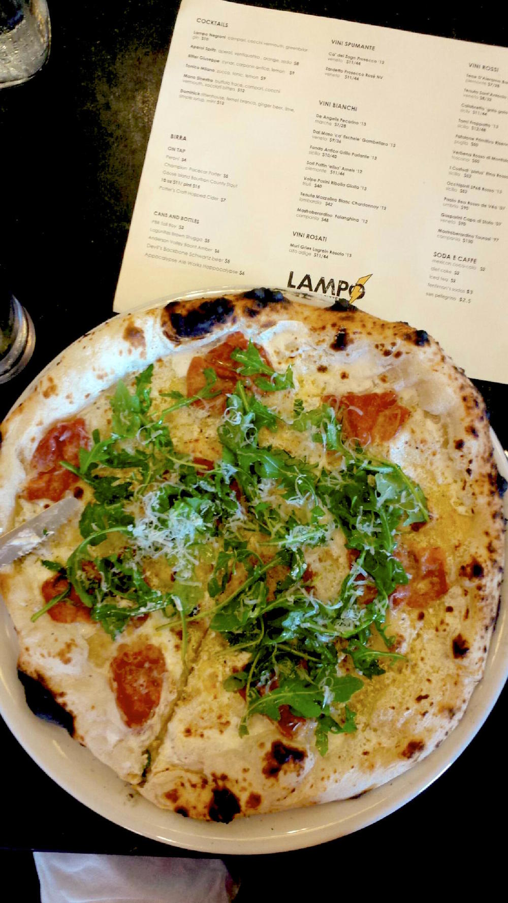 Lampo Pizza, Charlottesville Food Tour