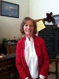 Christmas Open House 2011, Cheryl Kellert, Virginia Wine Tours