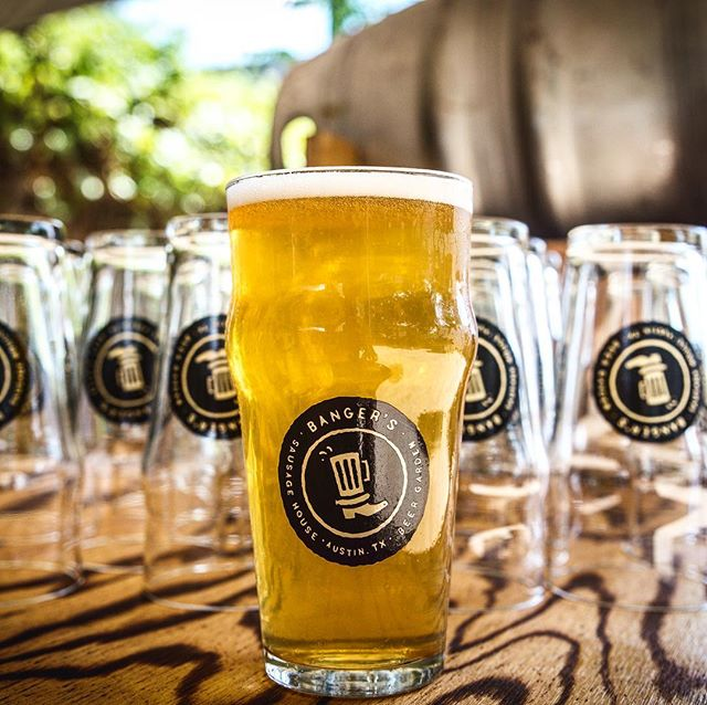 Some have wondered why we have 200+ beers on tap. Since everything is bigger in Texas, we figured we'd go big. Sound logic, right? Our alternative answer is: Why not?  The sun is out and our beer garden feels wonderful. Come by & enjoy the beautiful day. Bring your dog & grab'em our famous Woofwurst!. . . . . #beer #beerstagram #draftbeer #raineystreet #austintexas #atx #bangers #beergarden #dogfriendly