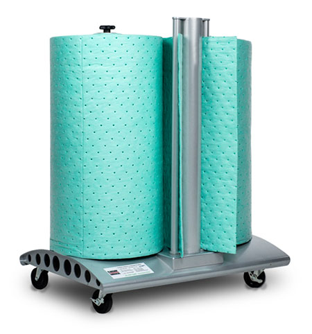 EcoDri-Safe™ Absorbent Roll (on Wheeled Multi Dispenser)