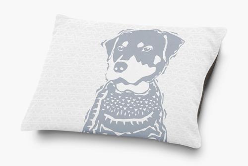 Rottweiler Dog Bed Barkley Wagz