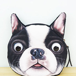 Boston Terrier Coin Purse