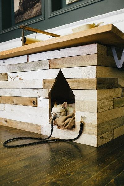 Built-in Dog Bed House from Remodelista