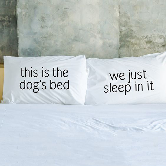 Quirky Dog Pillowcase Set