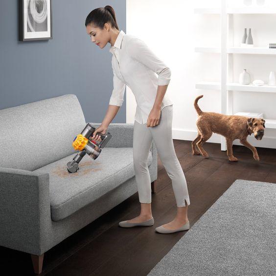 Dyson V6 Top Dog Handheld Vacuum - Cordless