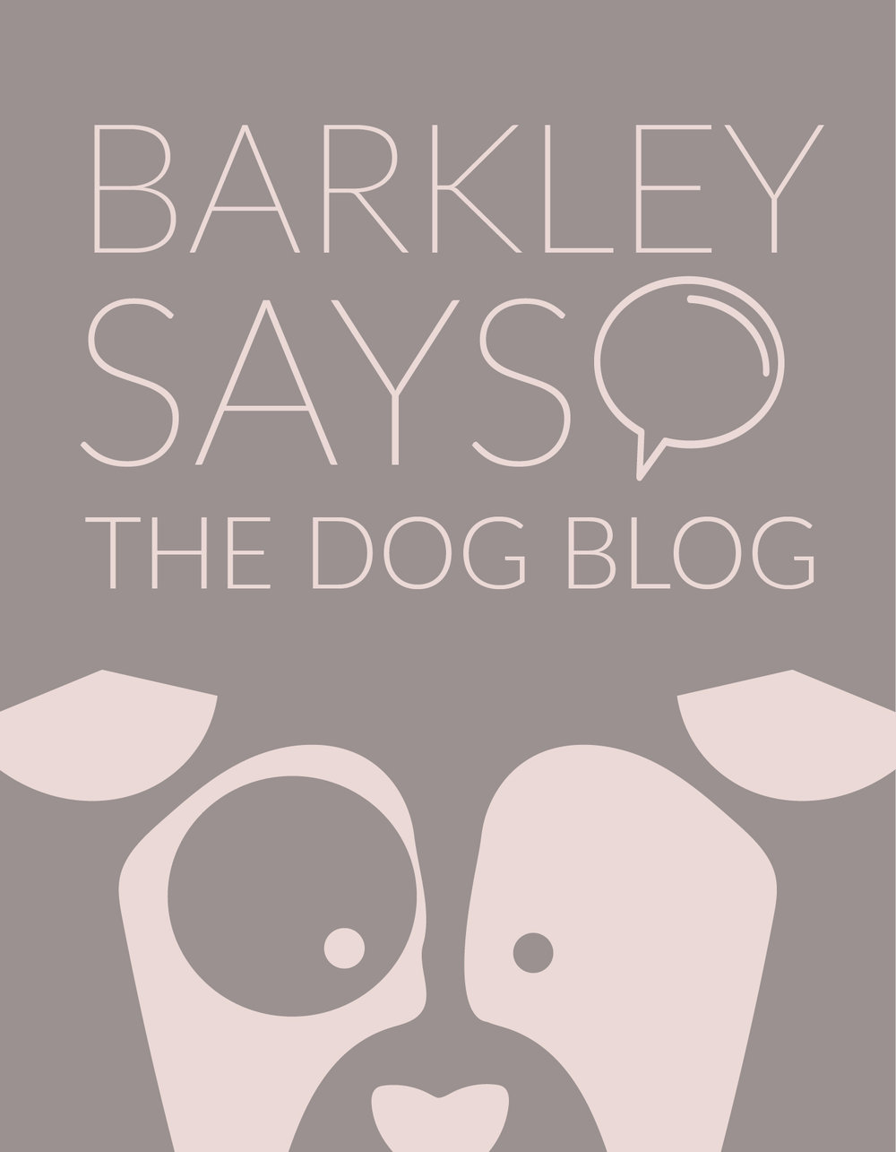 Barkley Says the Dog Blog
