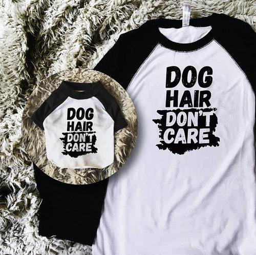 c617bcafc Dog Hair Don't Care T-Shirt Set for Dog & Human — Barkley & Wagz