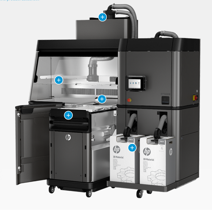 An exciting piece of news is that HP has announced the Jet Fusion 3-D printer, which is expected to be cost competitive with injection molding for small parts and volumes less than 55K. In addition to not needing molds, you have incredible design flexibility.