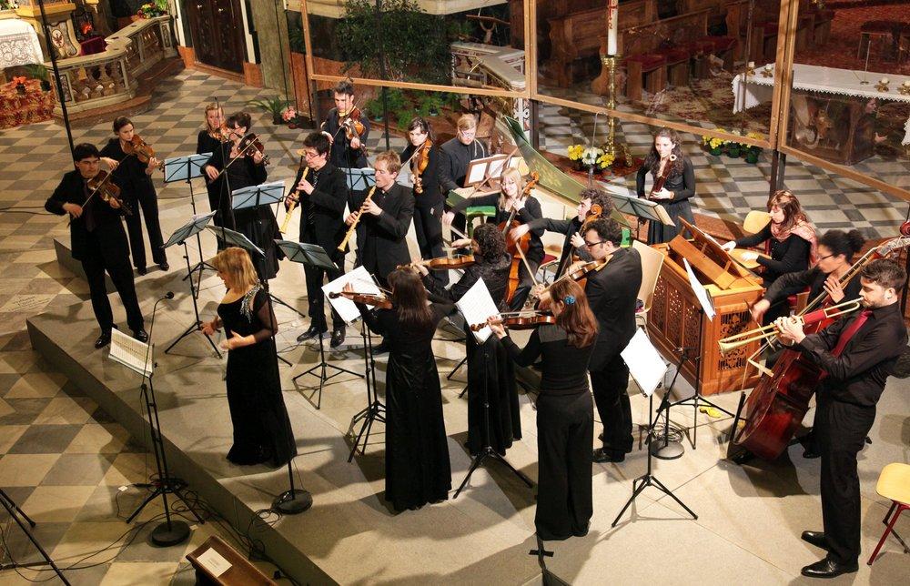 Festliche Barockmusik, Sud Tirol -NCB performing with Gemma Bertagnolli