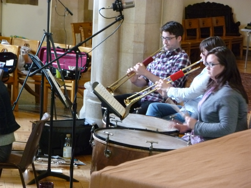 Haydn Nelson Mass - Recording