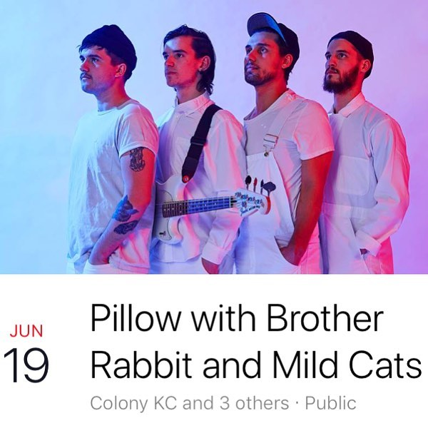 #KCMO! Our drummer @misterdoctorprofessorjordan will be filling in for our Tulsa friends @brotherrabbitok at @therinokc on June 19th! Come hang out! #kc #kcmusic #kcmomusic #kansascity #kansascitymusic #816