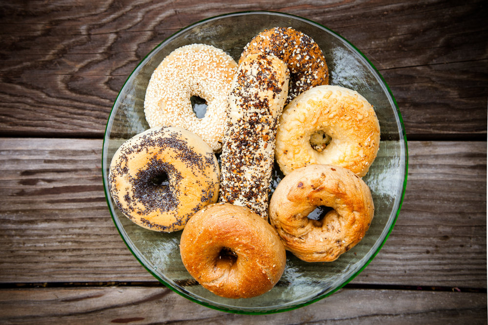 Bulk Bagels sent to your home
