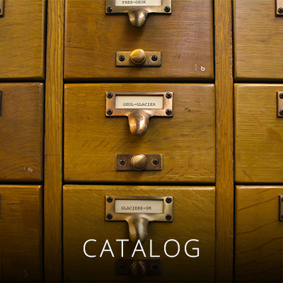 Use our catalog to find books, maps, films and archives collections.